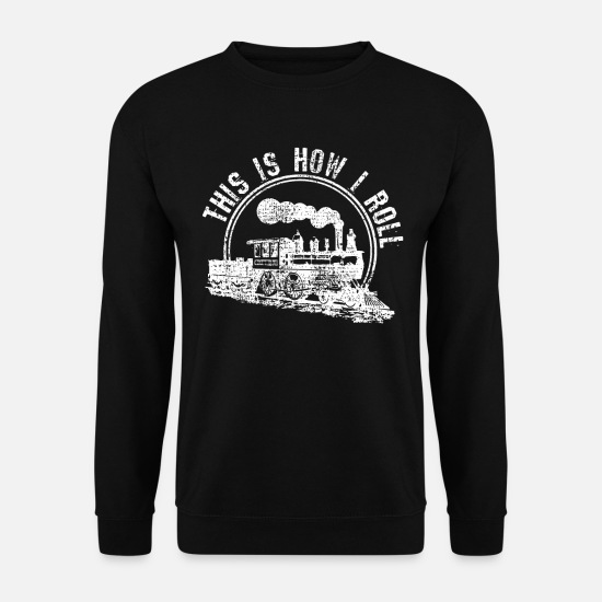 Diesel Hoodies & Sweatshirts - Trains - Men's Sweatshirt black