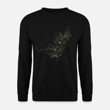 flowers - Men's Sweatshirt