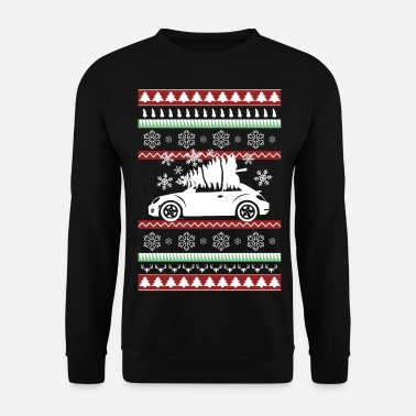Drifting Car Sports Car Vehicle Ugly Christmas Gift - Men's Sweatshirt