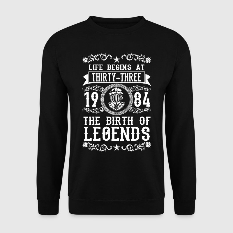 1984 - 33 years - Legends - 2017 - Sudadera hombre