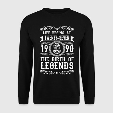 1990 1990 - 27 years - Legends - 2017 - Männer Pullover