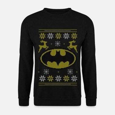 Ugly Christmas Justice League Batman Ugly Christmas - Mannen sweater