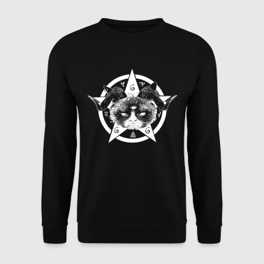 Grumpy Occult Cat - Sweat-shirt Homme