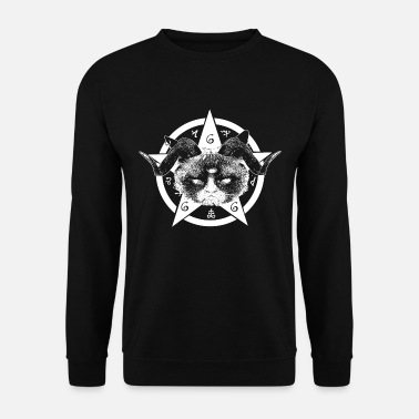 Occult Grumpy Occult Cat - Men's Sweatshirt