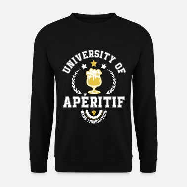 University of Apéritif - Sweat-shirt Homme