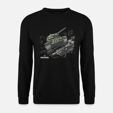 World Of Tanks T-34-85 heavily armoured - Men's Sweatshirt