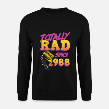 80s Totally Rad 80s Throwback TShirt - Drôle 1988 - Sweat-shirt Homme