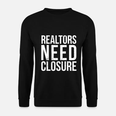 Noël Realtors Need Closure Drôle Agent immobilier - Sweat-shirt Homme