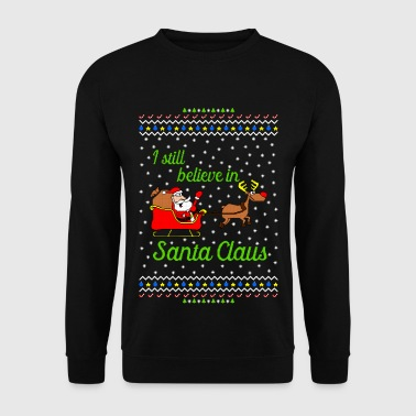 I still believe in Santa Ugly Christmas Sweater - Männer Pullover