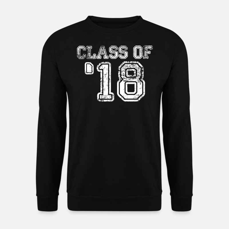 Senior Hoodies & Sweatshirts - Class of 2018 - Class of '18 - Men's Sweatshirt black