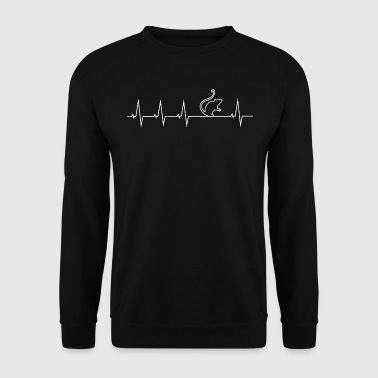 J'adore les rats - battement de coeur - Sweat-shirt Homme