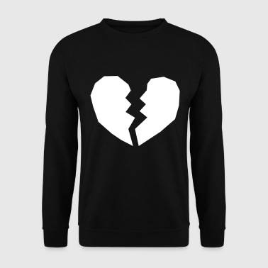 Hearts-broken Heart broken heart broken love - Men's Sweatshirt