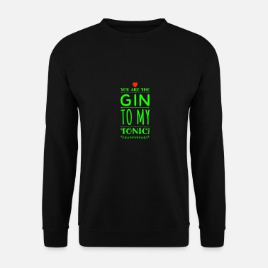 Tonique Gin Tonic Recipes Boire un verre - Sweat-shirt Homme