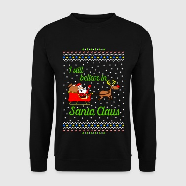 I still believe in Santa Ugly Christmas Sweater - Bluza męska