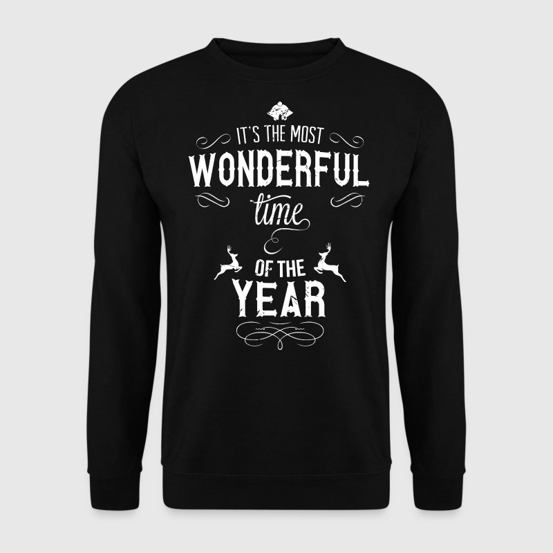 most_wonderful_time_of_the_year_w - Mannen sweater