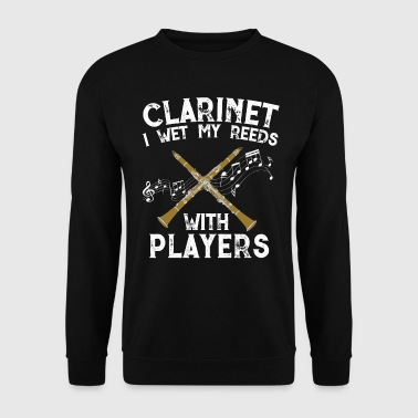 Clarinette Musique Design - Sweat-shirt Homme