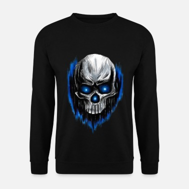 Glowing Glowing skull - Men's Sweatshirt