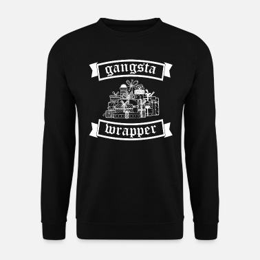 Gangsta Wrapper - papier d'emballage carton d'emballage - Sweat-shirt Homme