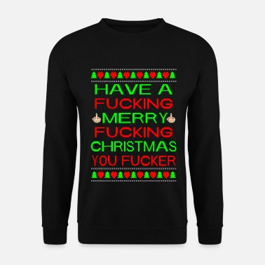 Ugly Christmas Merry Xmas You Fucker Ugly Xmas Sweater - Mannen sweater