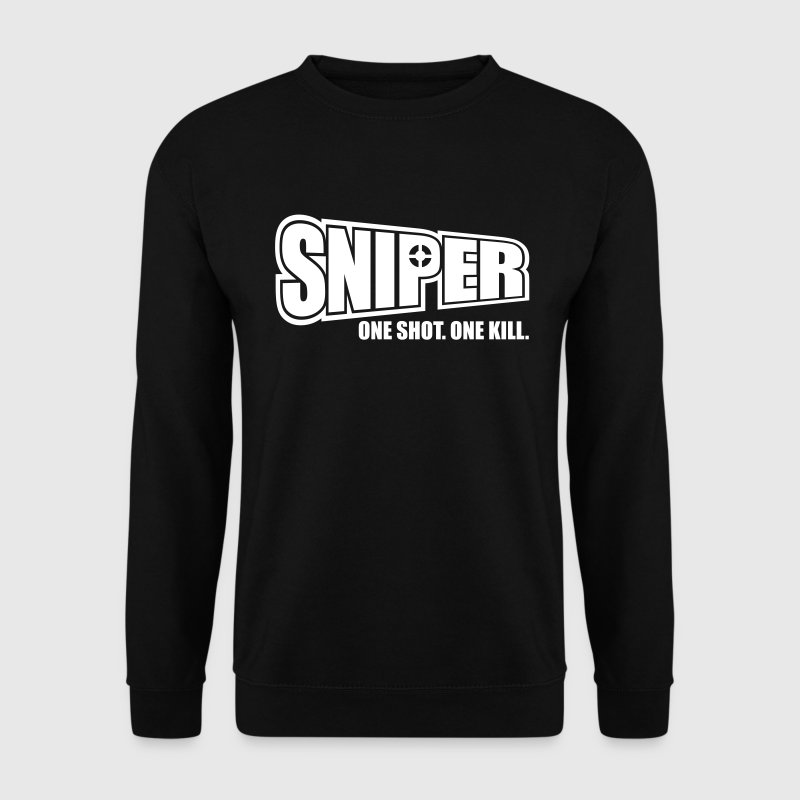 Sniper One Shot One Kill - Bluza męska