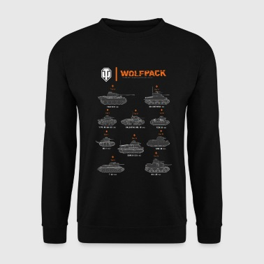 World of Tanks Wolfpack - Bluza męska