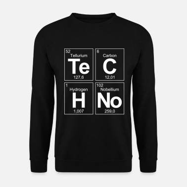 Periodensystem Techno Musik Chemie Periodensystem Elements DJs - Männer Pullover