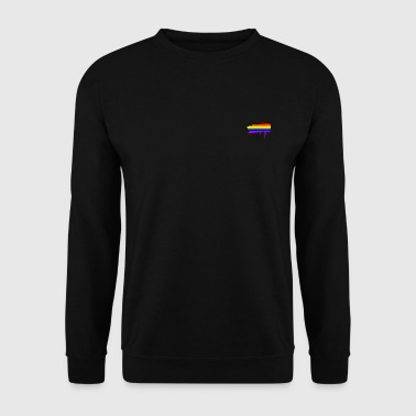 Rainbow Flag Graffiti - Men's Sweatshirt