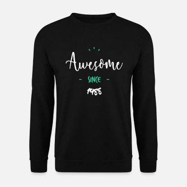 1988 Awesome since 1988- - Men's Sweatshirt