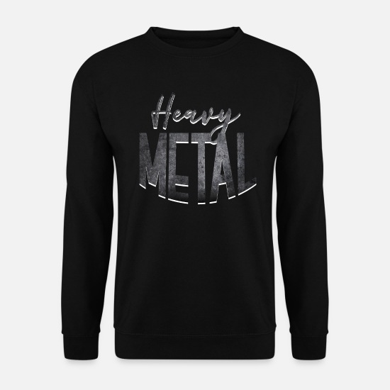 Rockabilly Sweat-shirts - Heavy Metal - Sweat-shirt Homme noir