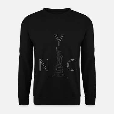New Age New York City Statue of Liberty - Herre sweater