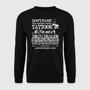 tattoos - Sweat-shirt Homme