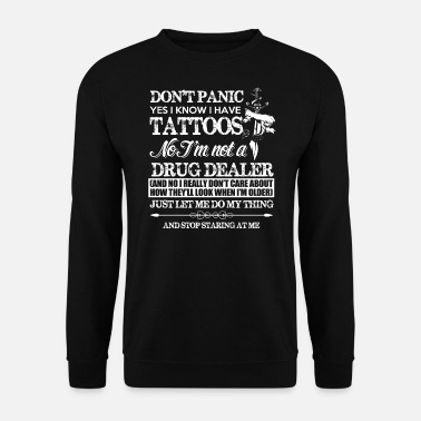 Tattoo tattoos - Sweat-shirt Homme