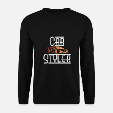 Vehicle Car styler with sports car - Men's Sweatshirt
