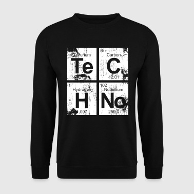Dirty Techno Chemie - Männer Pullover
