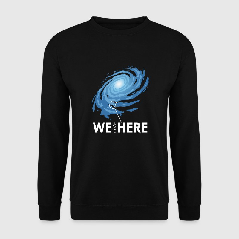 we are here - Männer Pullover