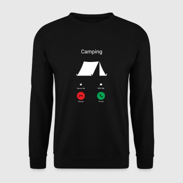 Camping får! - Herre sweater