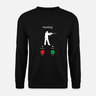 Shooting HUNTING CALLS! - Men's Sweatshirt