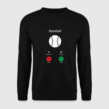 Appels de baseball ! - Sweat-shirt Homme