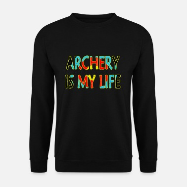 Achery is my life - Men's Sweatshirt