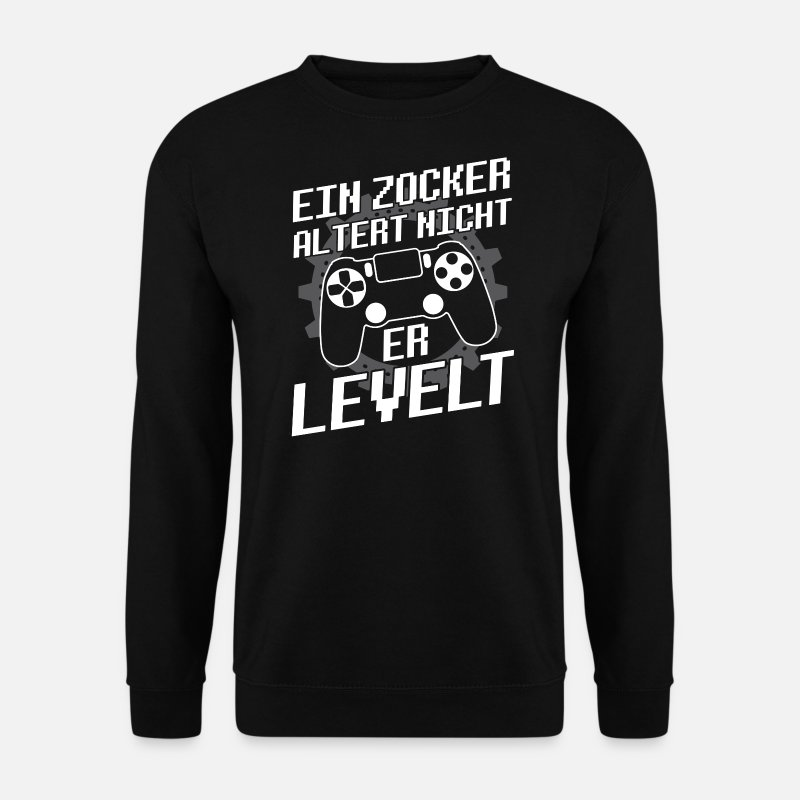 Console Sweaters - GAMING/GAMER - Mannen sweater zwart