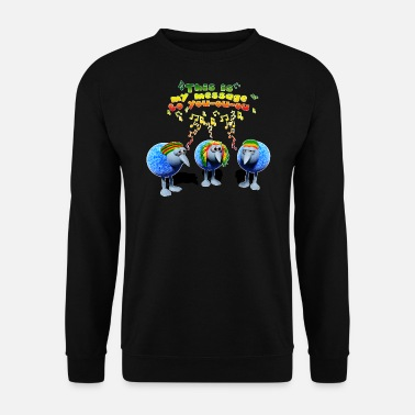 three little RASTA birds - Männer Pullover