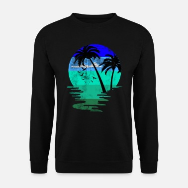 Plage Plage plage - Sweat-shirt Homme