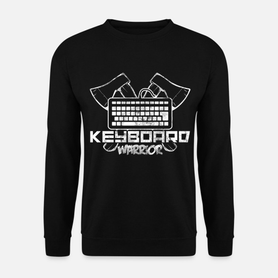Gift Idea Hoodies & Sweatshirts - computer - Men's Sweatshirt black