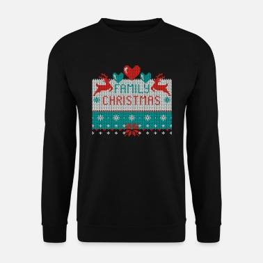 Family Christmas Ugly Sweater - Männer Pullover
