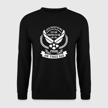 Proud Air Force Dad - USA military - Männer Pullover