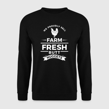 We proudly sell farm fresh butt nuggets - easter - Herrtröja