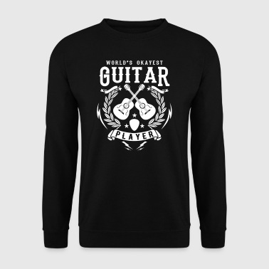 World's Okayest Guitar Player - cool band gift - Herrtröja