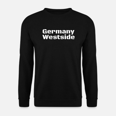 Westside Germania Westside West Germany Idea regalo West - Felpa da uomo