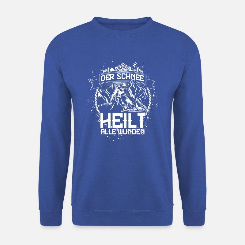 7bff7f46bd Der Schnee heilt alle Wunden Geschenk Männer Pullover | Spreadshirt