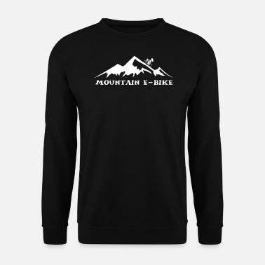 berg e bike m nner bio t shirt spreadshirt. Black Bedroom Furniture Sets. Home Design Ideas